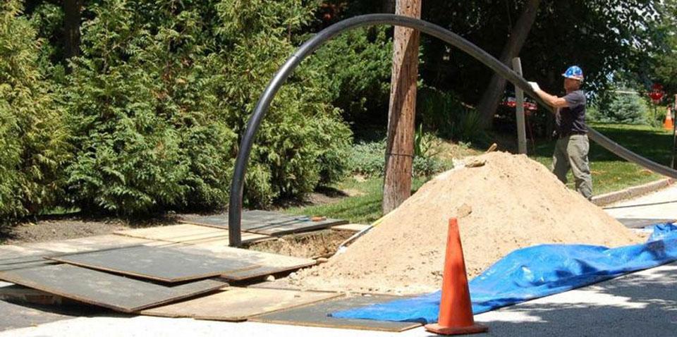 Pipeshark Installing New Residential Sewer