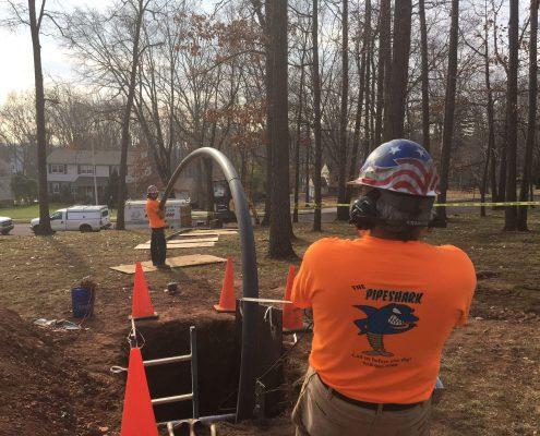 Trenchless Sewer Repair Berwyn Pennsylvania Plumbing