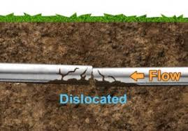 Dislocated Pipe