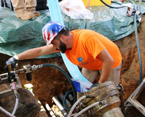 Commercial Plumbing Pipe Shark Sewer Repair