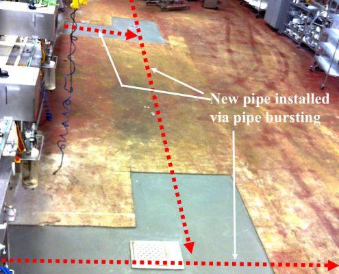 Pipe Bursting Installation Micro-Tunneling Pennsylvania