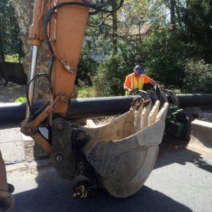 municipal public plumbing pipe repair sewer philadelphia